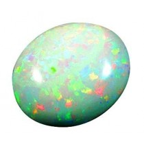 Ramneek jewels 11.5 Carat FIRE OPAL ( OPAL STONE ) 100 % ORIGINAL CERTIFIED NATURAL GEMSTONE AAA QUALITY