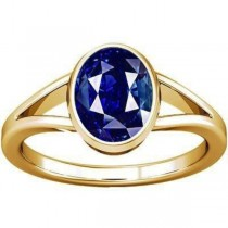 Divya Shakti Blue Sapphire Gold Ring ( Nilam / Neelam stone Gold Ring ) 100% Original AAA Quality Gemstone