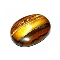 Divya Shakti 3.25 - 3.50 Ratti TIGER'S EYE ( CHITI STONE ) 100 % ORIGINAL CERTIFIED NATURAL GEMSTONE AAA QUALITY